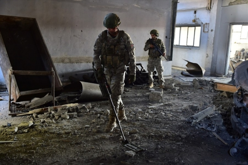 Tel Abyad'da PKK/YPG okulu vurdu