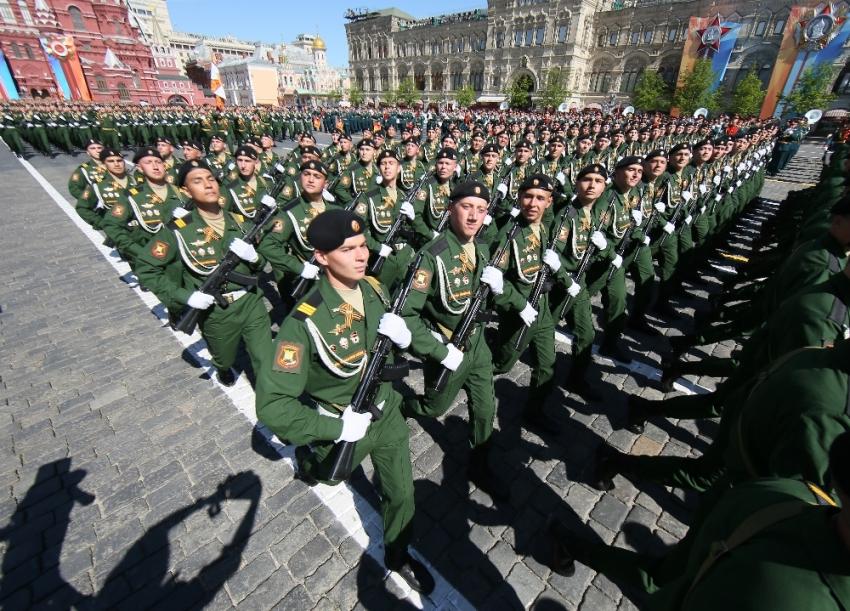 Rusya 'Zafer Bayramı'nı kutladı