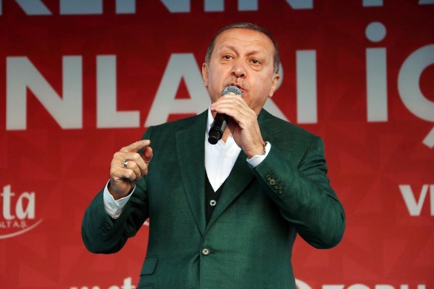 Cumhurbaşkanı Erdoğan CHP'li Tezcan'a ateş püskürdü
