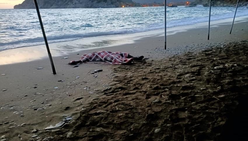 Kıyıya erkek cesedi vurdu