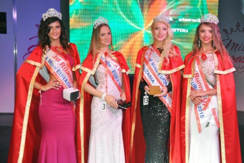 Miss Eurasia kraliçesi Sibiryalı!