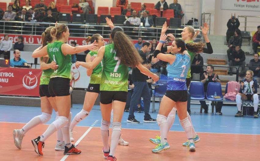 Bursa Büyükşehir Belediyespor 3-0 Charleroi Volley