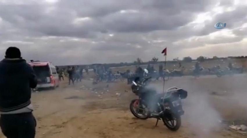 İsrail güçlerinden Filistinli göstericilere müdahale: 30 yaralı
