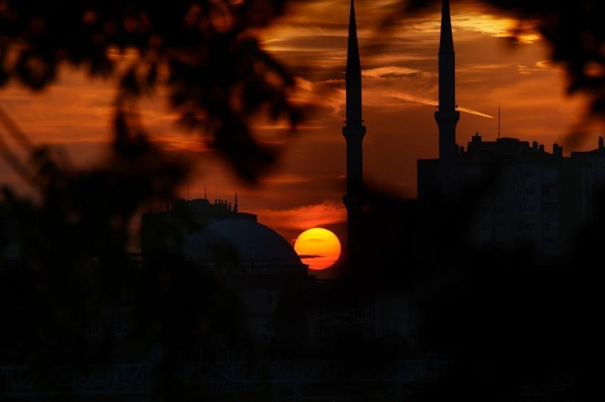 İstanbul'da mest eden gün batımı