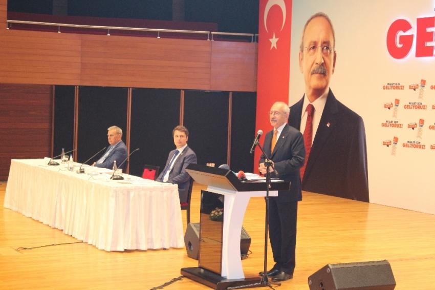 Kılıçdaroğlu: İlk kez bir siyasi parti…
