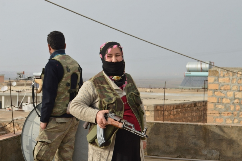 Kadın korucular 8 Mart'ta da görev başında