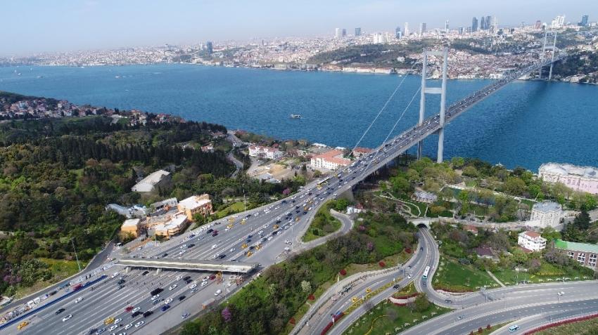 Köprü ve otoyol gelirleri 443 milyon lirayı aştı