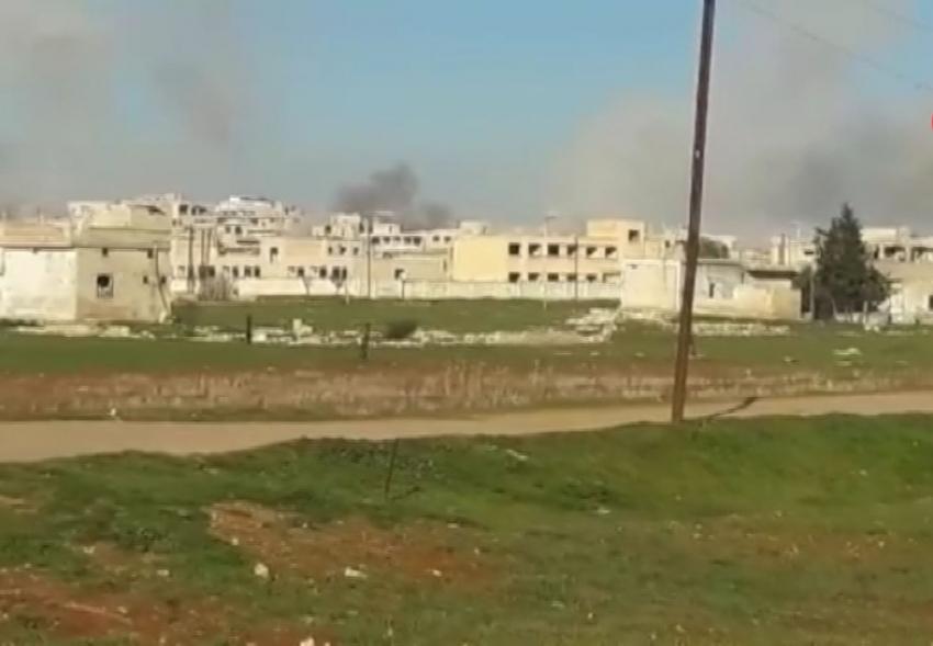 Esad rejimi sivilleri hedef aldı: 2 ölü, 4 yaralı