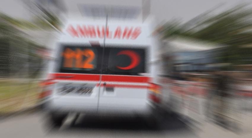 İş makinesinin geçişi sırasında patlama: 1 yaralı