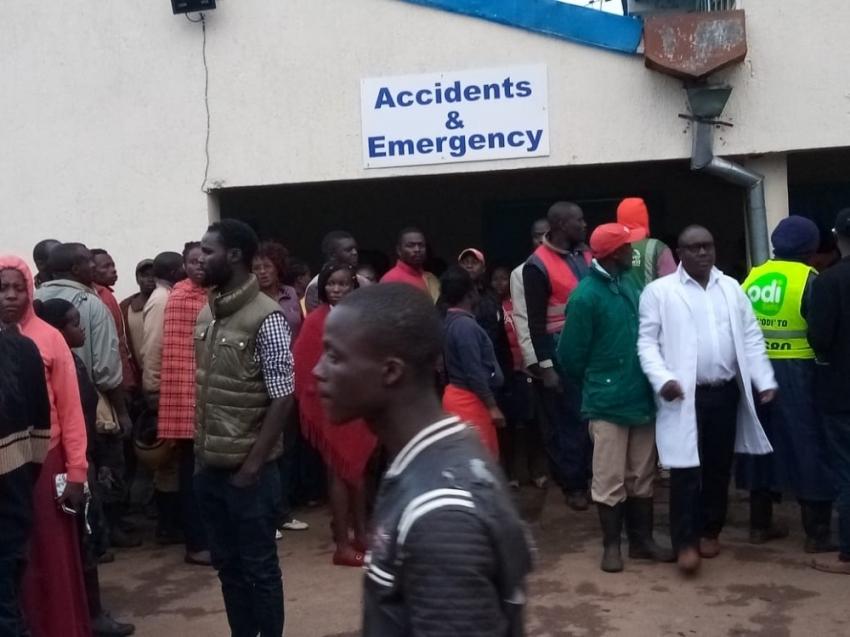 Kenya'da okul çıkışında izdiham: 14 ölü