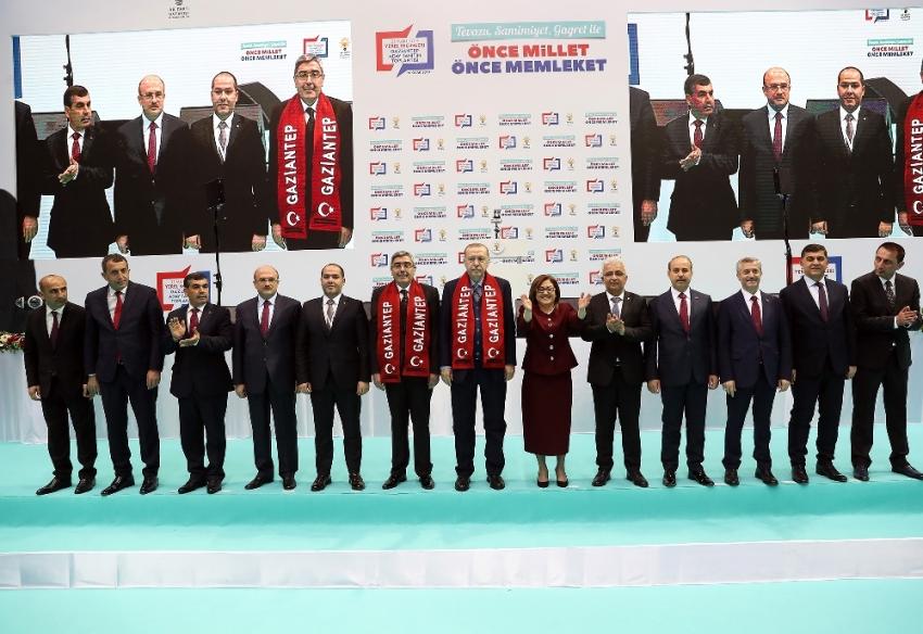 Erdoğan partisinin Gaziantep adaylarını açıkladı