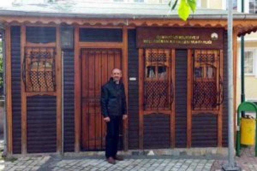 Bursa Molla Gürani'de restorasyon sürüyor