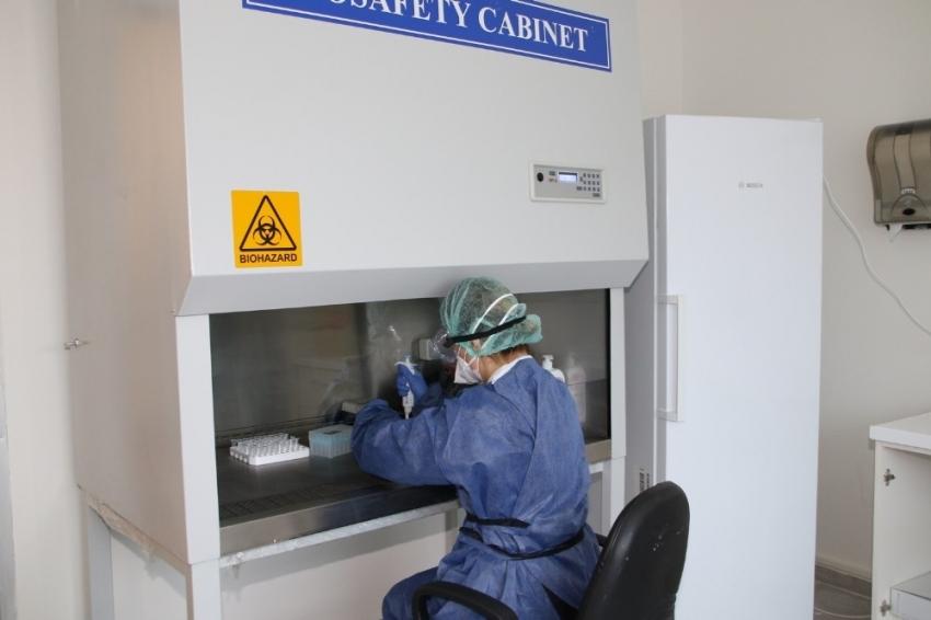 Real-time PCR cihazı ile kovid-19 tanı uygulamasına başlandı