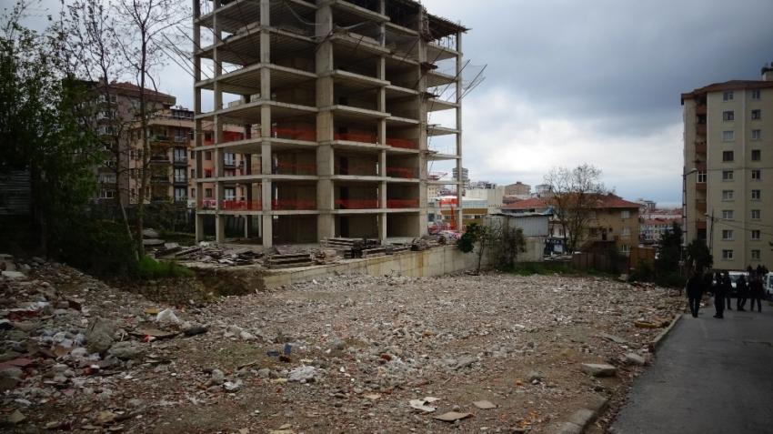 İstanbul'da inşaatta dehşet