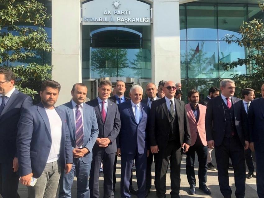 Osmanlı Ocaklarından Binali Yıldırım'a tam destek