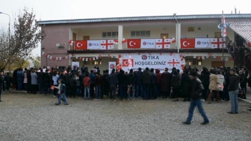 TİKA'dan Gürcistan'daki okula destek