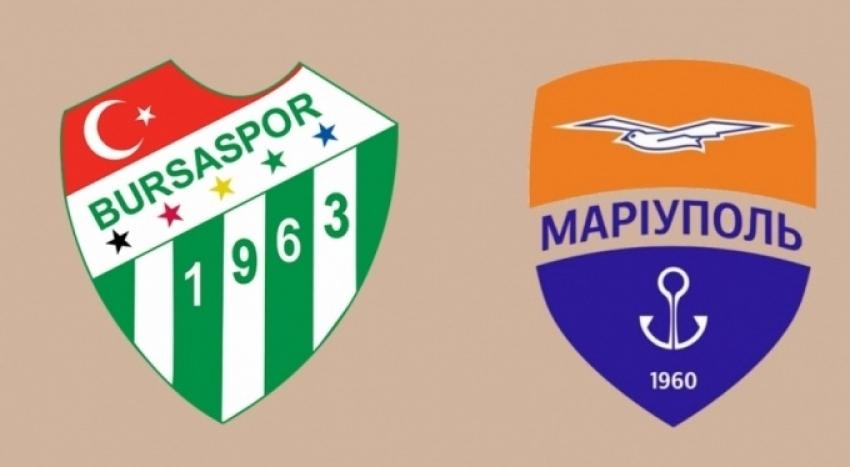 Hazırlık maçı Bursaspor - Mariupol