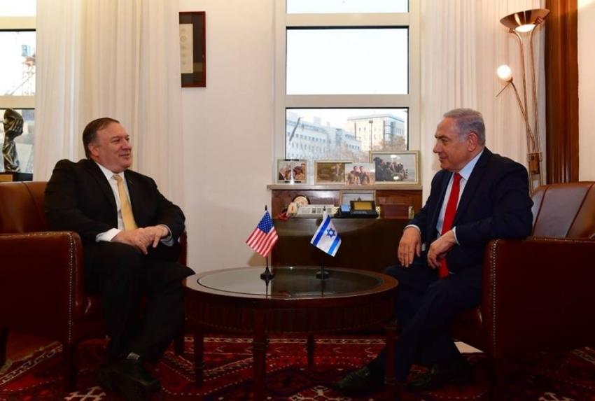 Pompeo, İsrail Başbakanı Netanyahu ile görüştü