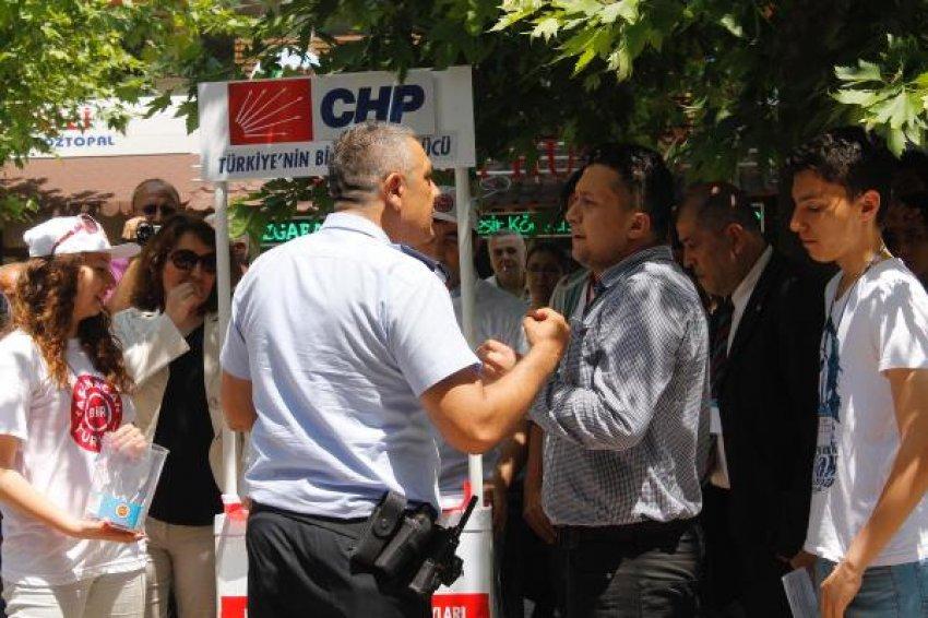 Seçim standına tutanak