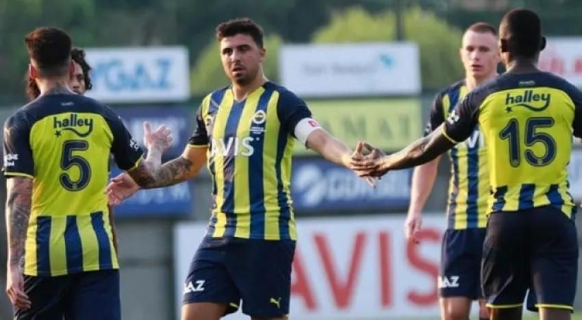 Fenerbahçe'den gollü prova