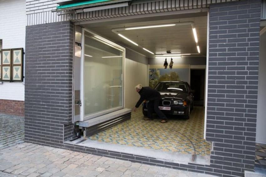Garaj yapmasına izin vermediler, akıllara zarar bir çözüm buldu!