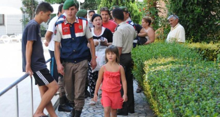 Ukraynalı kız Antalya'ya gönderildi