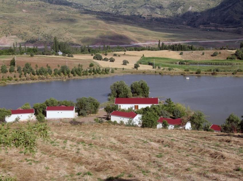 Doğal göl turizme kazandırılıcak