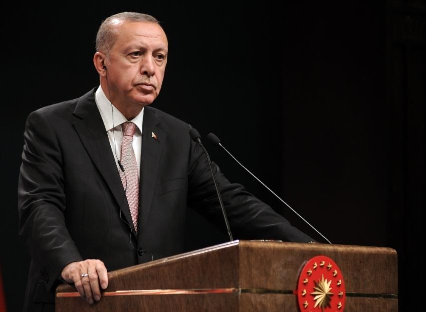 Cumhurbaşkanı Erdoğan'dan BM'nin 74. kuruluş yılı mesajı