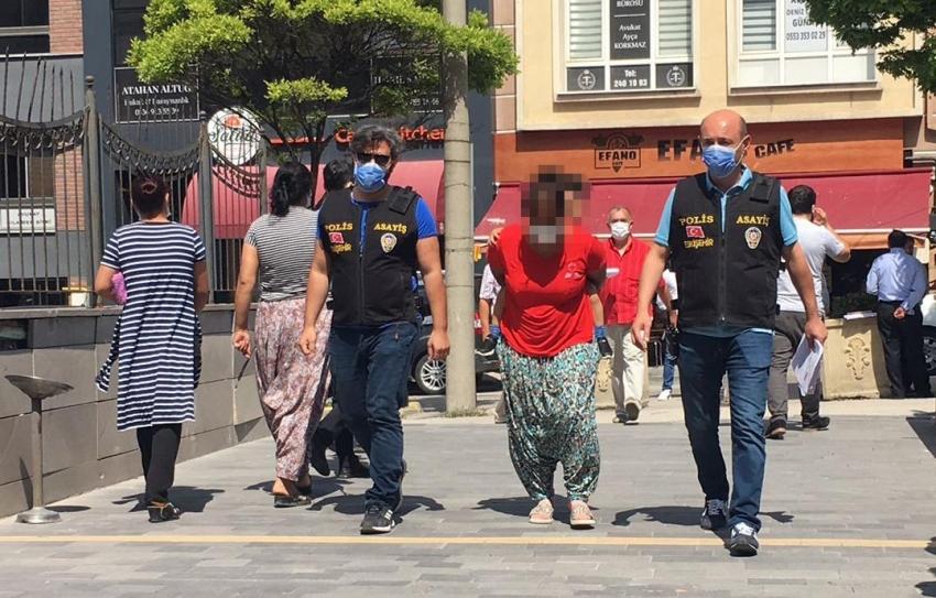 Kızına gözcülük yaptırarak evlere giren kadına ev hapsi cezası verildi