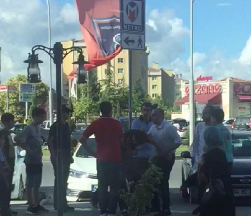 İstanbul'da tacizciye meydan dayağı