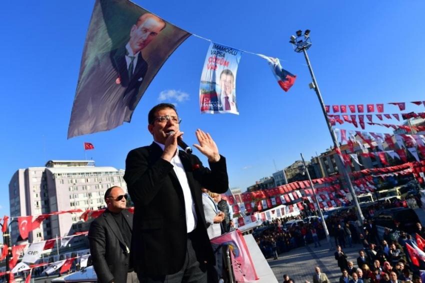 """İmamoğlu: """"Sevinç gösterileri yapılmayacak, herkesi kucaklamak istiyorum"""""""