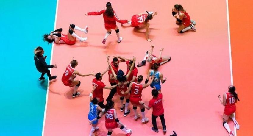 Filenin Sultanları 3-0'lık zaferle olimpiyat vizesi aldı