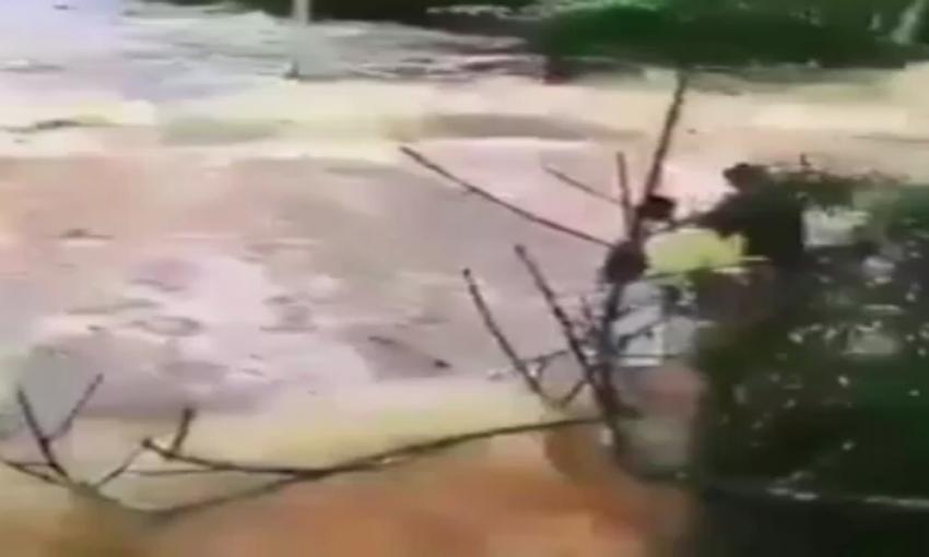 Tsunami kıyı şeridini böyle yuttu