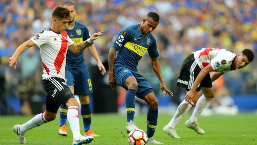 Boca Juniors 2-2  River Plate