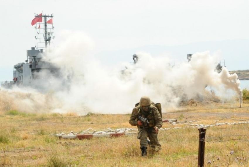 Savaşçı Türk askerleri