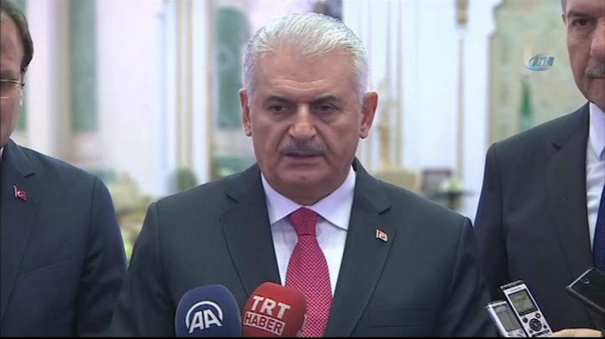 Başbakan Yıldırım açıkladı: Türkiye'ye geliyor