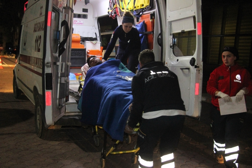 El Bab'da patlama: 2 yaralı
