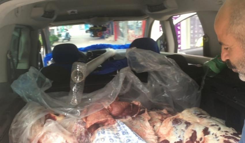 Bursa'da Kurban etleri bozulmasın diye bulduğu teknik görenleri hayrete düşürdü