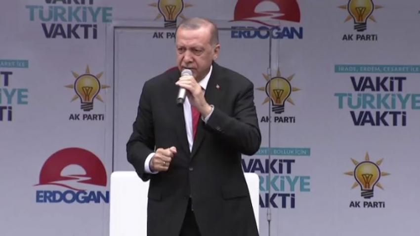 Erdoğan Ovit Tüneli'nin resmi açılışını gerçekleştirdi