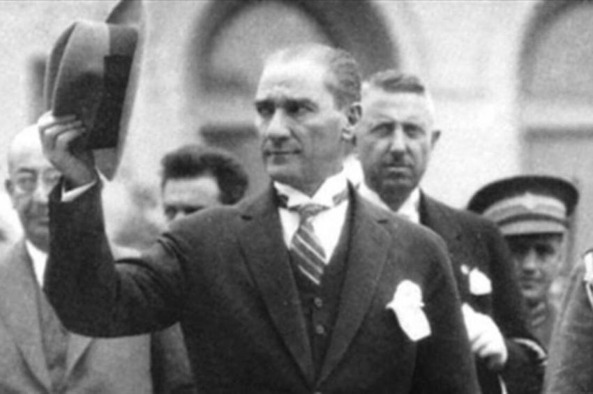 Atatürk'ün daha önce hiç yayınlanmayan bir fotoğrafı ortaya çıktı