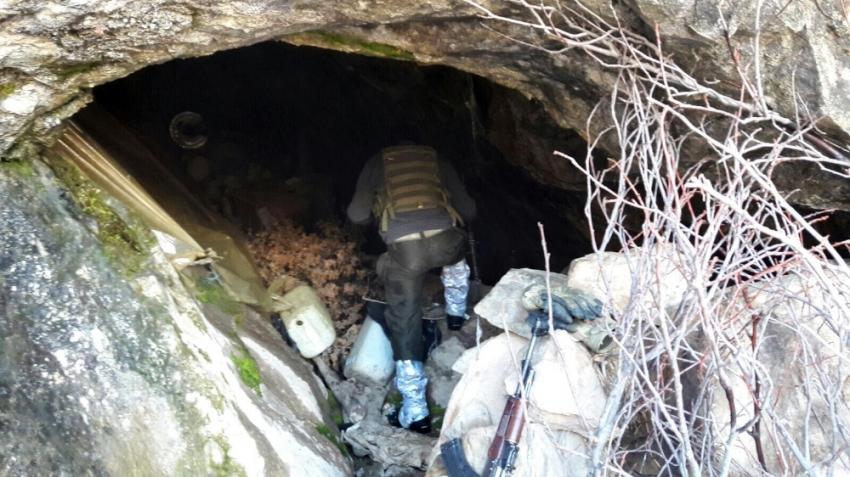 8 katlı ve havuzlu PKK sığınağı