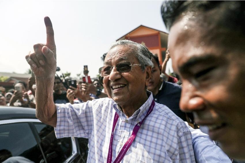 Malezya sandık başında