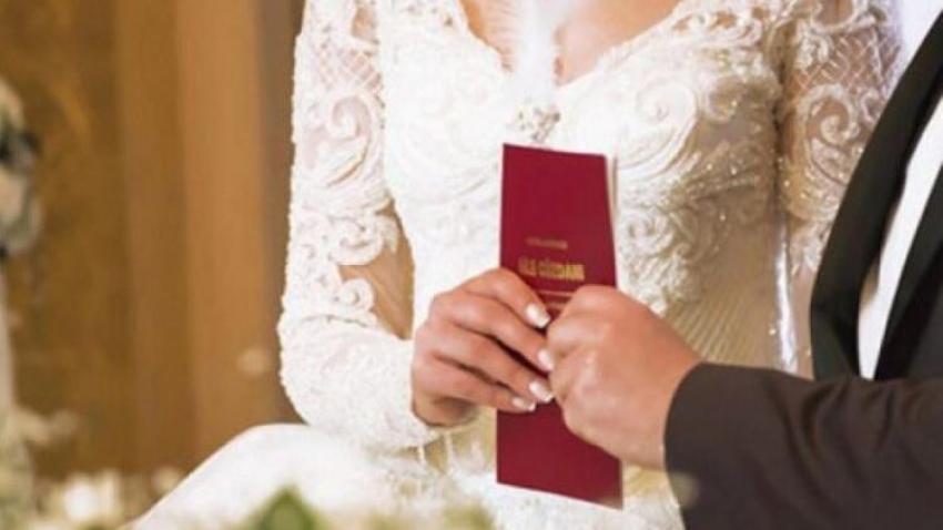 O kentimizde nikah işlemleri durduruldu