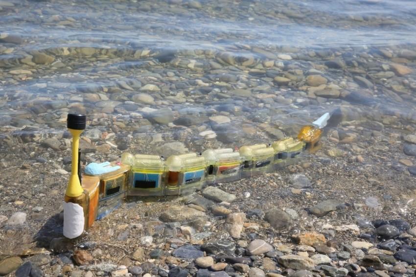 Su kirliğini araştıracak robot yapıldı