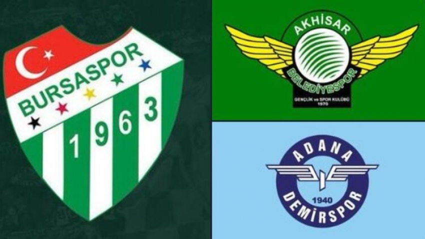 Bursaspor ve Akhisarspor, Süper Lig'e çıkmak için TFF'ye başvurdu!