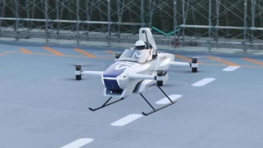 Japonya uçan otomobil hayaline bir adım daha yaklaşıldı