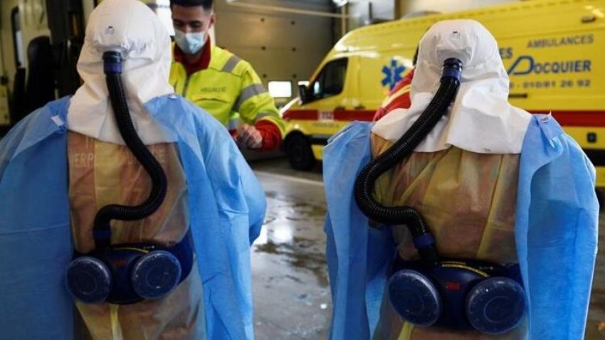Belçika'da virüs kontrolden çıktı