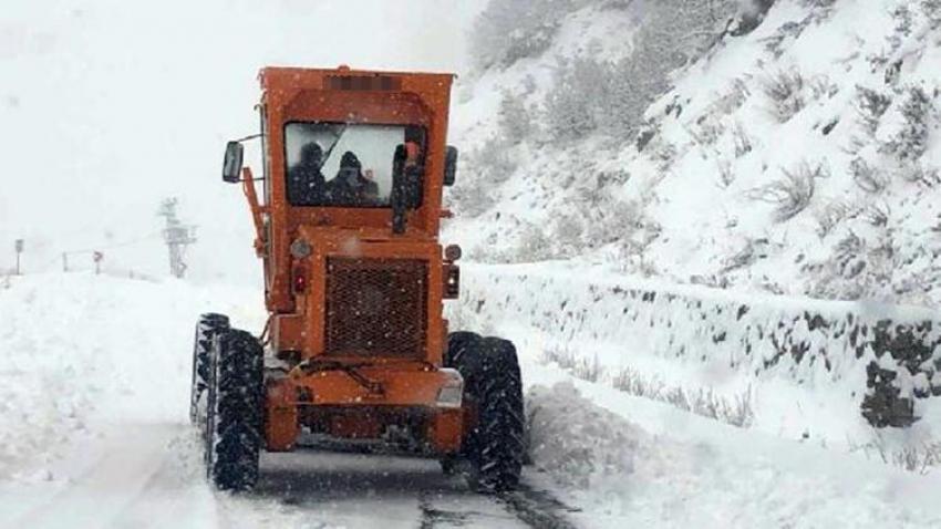 Tunceli'de kara kış!
