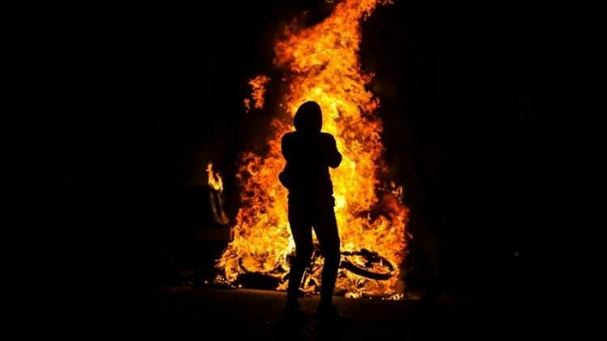 Sobayı yakmaya çalışırken evi yaktı!