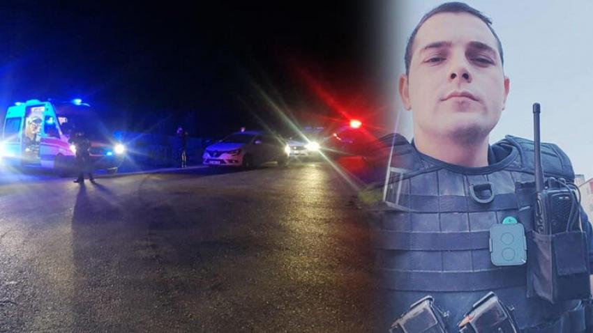 Polis midibüsü şarampole devrildi! 1 şehit, 4 yaralı